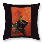 An Isolated Commander Throw Pillow