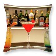 An Italian Drink Throw Pillow