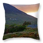 An Ivy Covered Cottage Throw Pillow