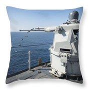 An Mk-38 Machine Gun System Aboard Uss Throw Pillow