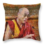 An Ocean Of Wisdom In A Sea Of Storms Throw Pillow