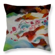 An Offering Throw Pillow