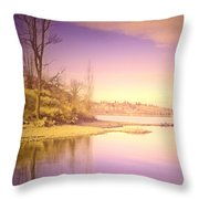An Okanagan Calm Throw Pillow