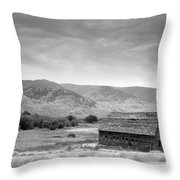 An Old Barn Throw Pillow