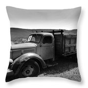 An Old Clunker Throw Pillow