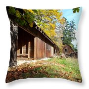 An Old Farm Throw Pillow