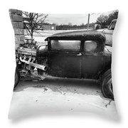 An Older Model Throw Pillow