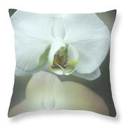 An Orchid For You Throw Pillow
