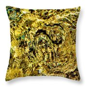An Unconvincing Disguise. Sea Snake. Throw Pillow