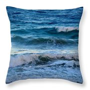 An Unforgiving Sea Throw Pillow
