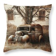 An Unusual Delivery Throw Pillow