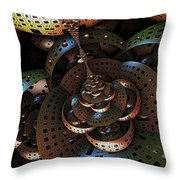 An Unusual Perspective... Throw Pillow