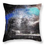 An Unusual Storm  Throw Pillow