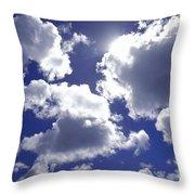An Upward View Throw Pillow