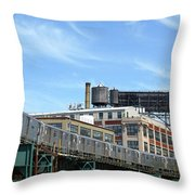 An Urban Landscape Throw Pillow