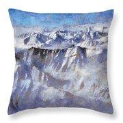 Anaktuvuk Pass Alaska Throw Pillow