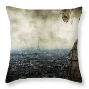 Anamnesis Throw Pillow by Andrew Paranavitana