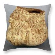 Anasazi Bowl Throw Pillow