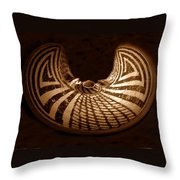 Anasazi Butterfly Pot Throw Pillow