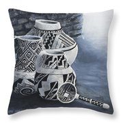Anasazi Charm Throw Pillow