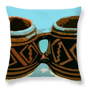 Anasazi Double Mug Throw Pillow