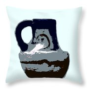 Anasazi Jug Throw Pillow