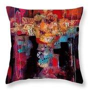 Anasazi Serenade 003 Throw Pillow