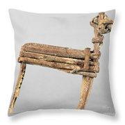 Anasazi Split-twig Figure Throw Pillow