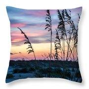 Anastasia Sunset Throw Pillow
