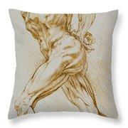 Anatomical Study Throw Pillow