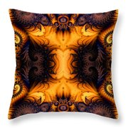 Anatomy Of Fuzzy Logic Throw Pillow