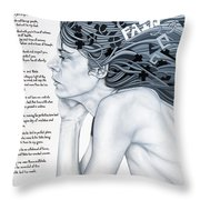 Anatomy Of Pain Throw Pillow