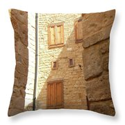 Ancestral Home Throw Pillow