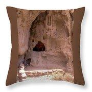 Ancestral Ruin Throw Pillow