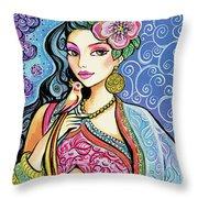 Anchita Throw Pillow