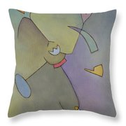 Anchor Points 6 Throw Pillow
