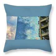 Anchorage Architecture I Throw Pillow