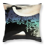 Anchorage Object Throw Pillow