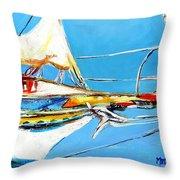 Anchored 2 Throw Pillow