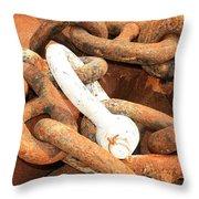 Anchored 3 Throw Pillow
