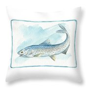 Anchovy Throw Pillow