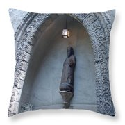 Ancient Archway Throw Pillow