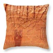 Ancient Art 3 Throw Pillow