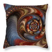 Ancient Circularis Throw Pillow