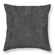 Ancient City Throw Pillow