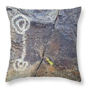 Ancient Connections Throw Pillow