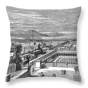 Ancient Corinth, C1894 - To License For Professional Use Visit Granger.com Throw Pillow