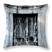 Ancient Door 3 Throw Pillow
