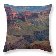 Ancient Formations North Rim Grand Canyon National Park Arizona Throw Pillow