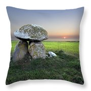 Ancient Grave Throw Pillow